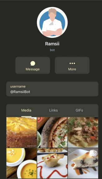 RamsiiBot - Subsitute Ingredients – screenshot 2