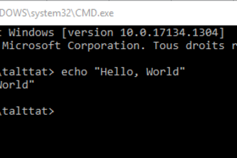 Hello, World in a New Language