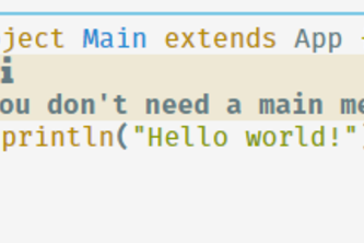 Hello World in a New Language