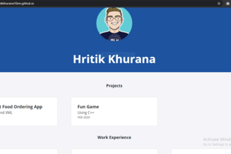 Personal Site with GitHub Pages