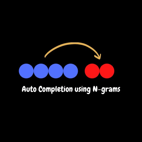 Auto Completion using N Gram Models – screenshot 1