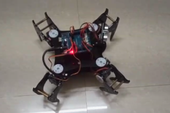 All in one Quadruped Bot   Hardware Hack   LHD: Build