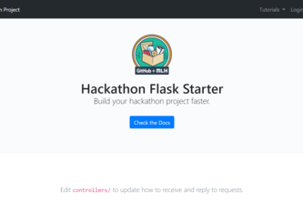 Flask Starter Kit [MLH Local Hack Day 2021]