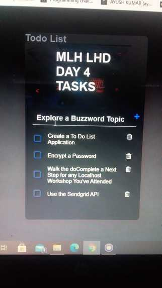 Create a To Do List Application – screenshot 1