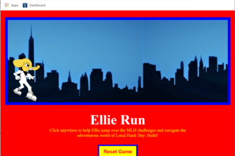 Ellie Run for New Year