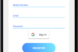 Authentication with Firebase