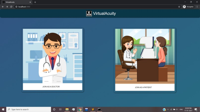 VirtualAcuity – screenshot 1