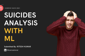 Suicides Data Analysis in India Using Machine Learning