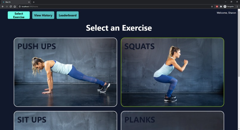 WEE FIT – screenshot 2