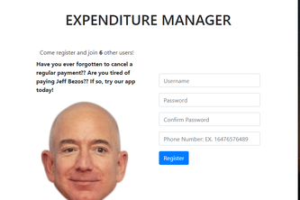 Expenditure Manager