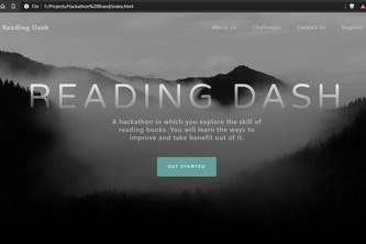 Reading_Dash-hackathon-Idea