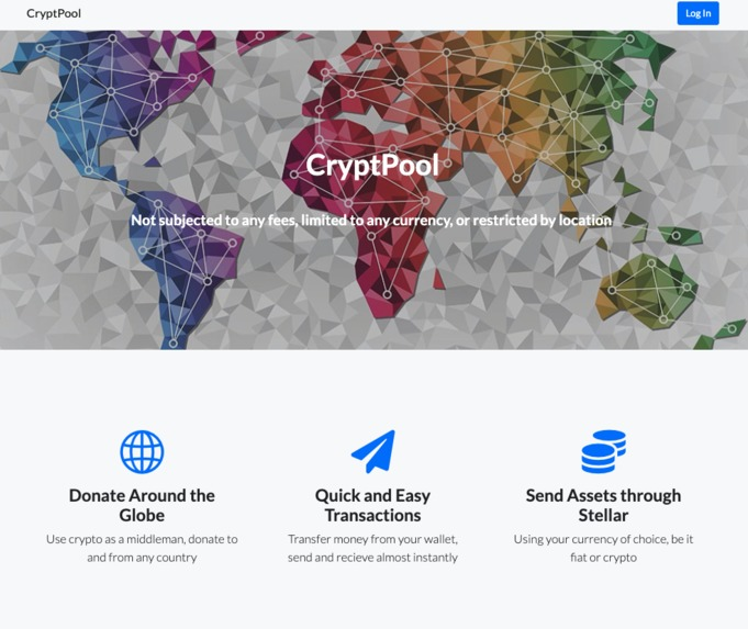 CryptPool – screenshot 1
