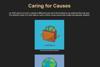 Caring for Causes