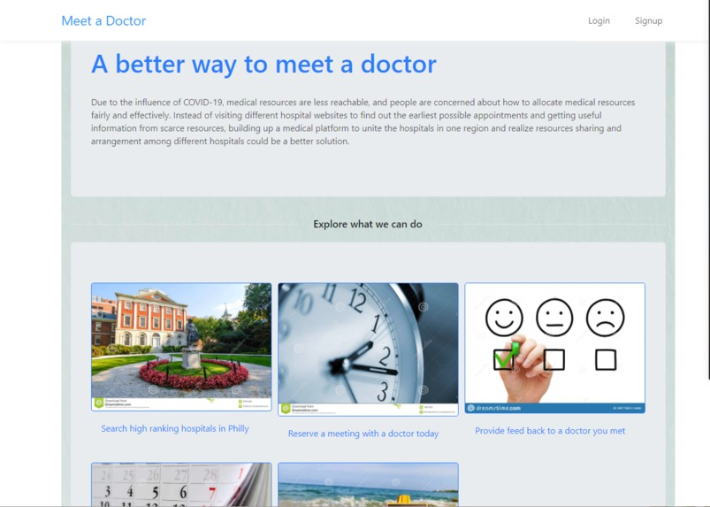 Meet a Doctor – screenshot 1