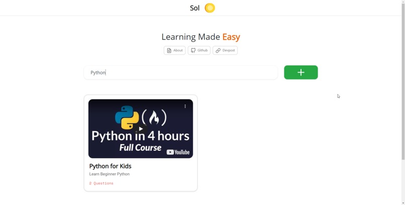 Sol - Learning Made Easy @ learnwithsol.com – screenshot 4