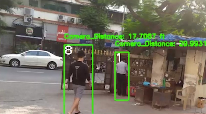Multi Camera Smart Surveillance Network – screenshot 1
