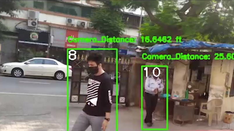 Multi Camera Smart Surveillance Network – screenshot 3
