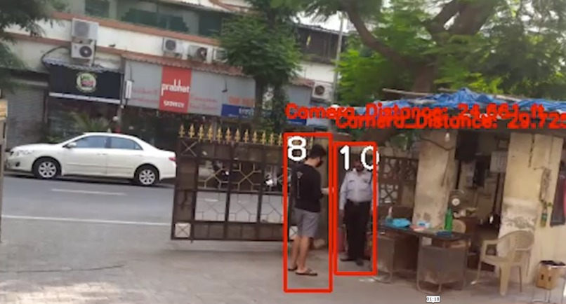 Multi Camera Smart Surveillance Network – screenshot 4