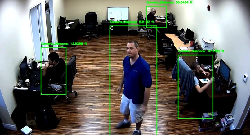 Multi Camera Smart Surveillance Network – screenshot 6