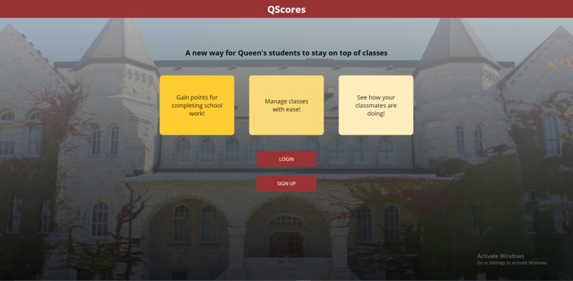 QScore - Gamify School! – screenshot 1