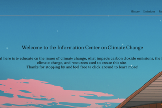 Climate Change Information Site