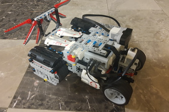 Space Rover using EV3, Raspberry PI, and Rest APIs