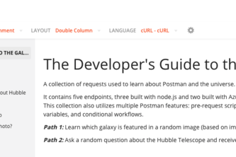 The Developer's Guide to the Galaxy