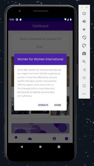 Cents for Charity : Supporting Women One Cent at a Time – screenshot 5