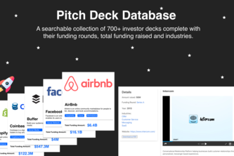 Pitch Deck Database