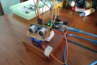 Arduino Radar System with GUI