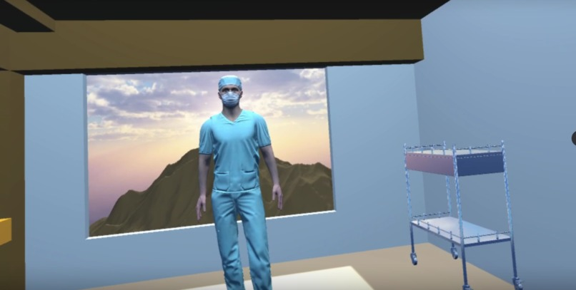 DocVR: Virtual Reality AI Health Assistant – screenshot 1