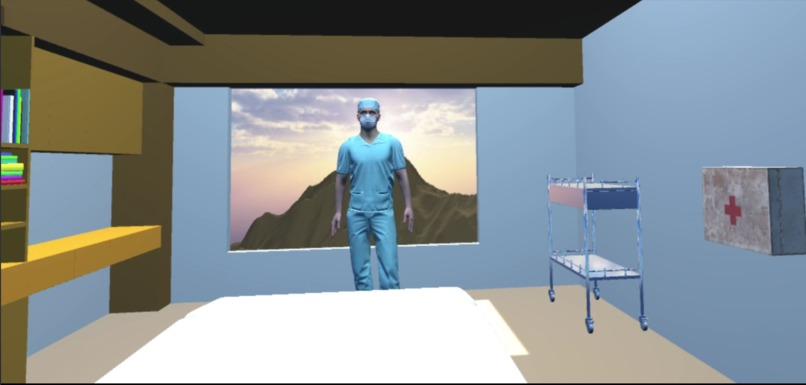 DocVR: Virtual Reality AI Health Assistant – screenshot 2