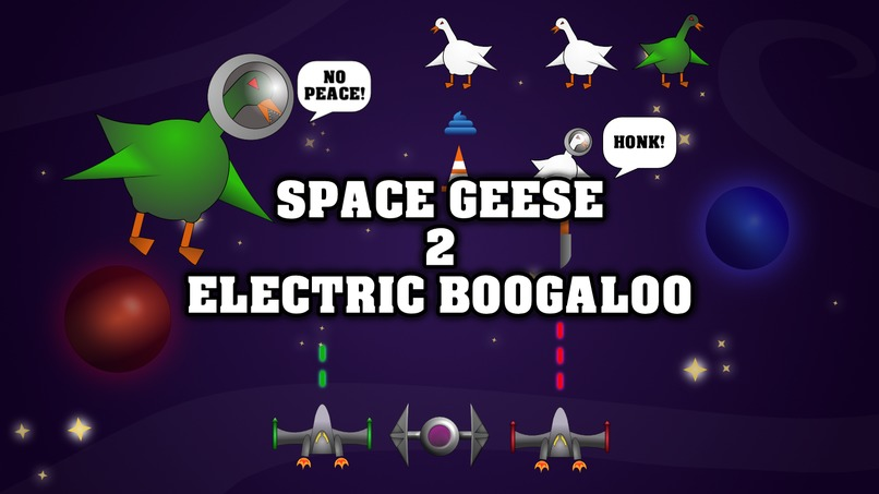 Space Geese 2: Electric Boogaloo – screenshot 1