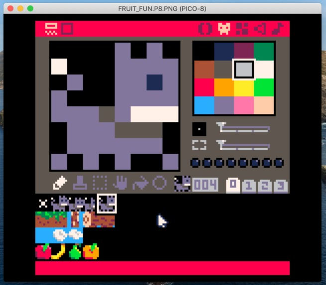 Fruit Fun Pico-8 Game – screenshot 4