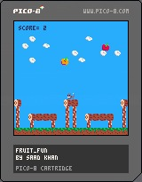 Fruit Fun Pico-8 Game – screenshot 1
