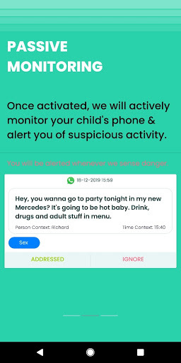 watchfalcon, protect your kids from online threats. – screenshot 3