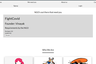 Donate-Cart-for-NGO-By-Devang-Sharma
