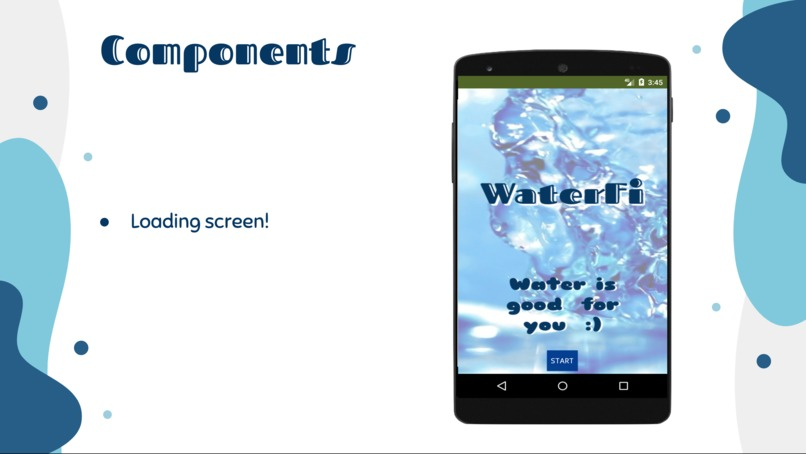 East/West Chic Android App: WaterFi – screenshot 4