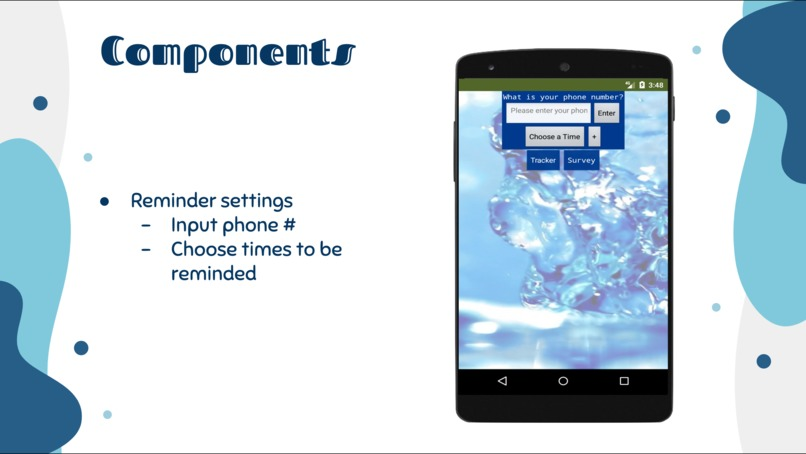 East/West Chic Android App: WaterFi – screenshot 8