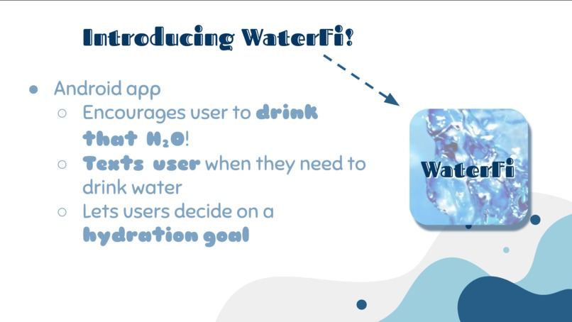 East/West Chic Android App: WaterFi – screenshot 3