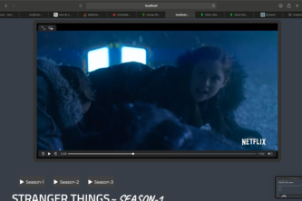 Full Stack Video streaming Environment