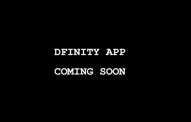 Dfinity Coming Soon Html5 Boilerplate – screenshot 1