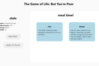 The Game of Life: But You're Poor