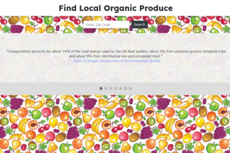 Find Local Organic Produce