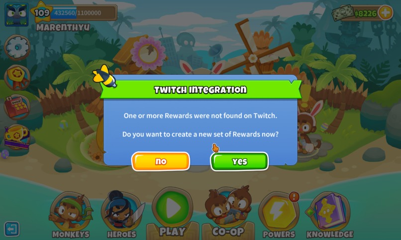 Bloons TD6 Streaming Channel Point Integration – screenshot 1