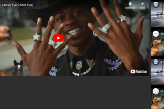 Video Playlist in HTML CSS JS