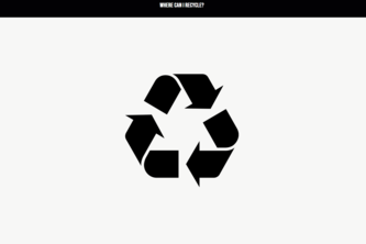 Where Can I Recycle?