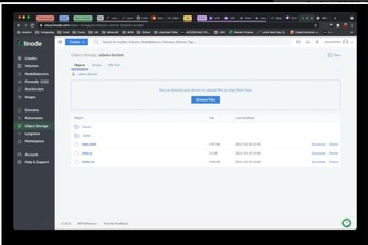 Add to an Existing project using Linode product