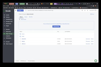 Add to an existing project using linode