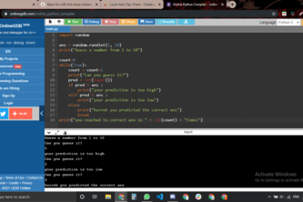 Command line game